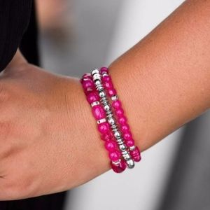 Free with Bundle Malibu Marina Pink Bracelet